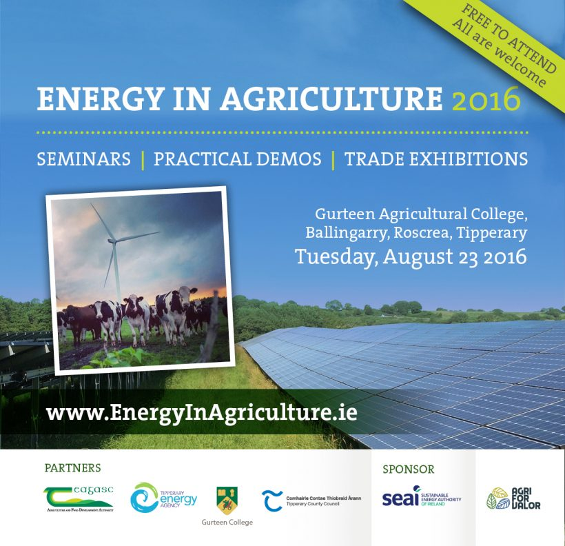 Energy in Agriculture Conference